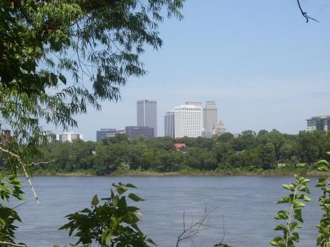 I am writing tonight from beautiful Tulsa Oklahoma.