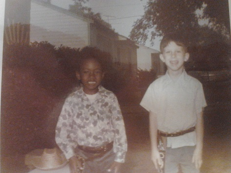 Rodney and William Cerca 1971
