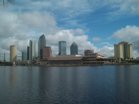 I am writing today from the beautiful Tampa Bay area.