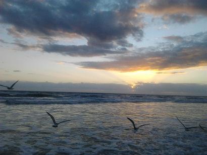 Daytona Beach Sunrise 2012