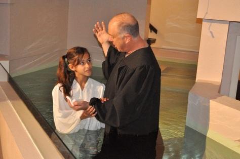 Alyssa baptism