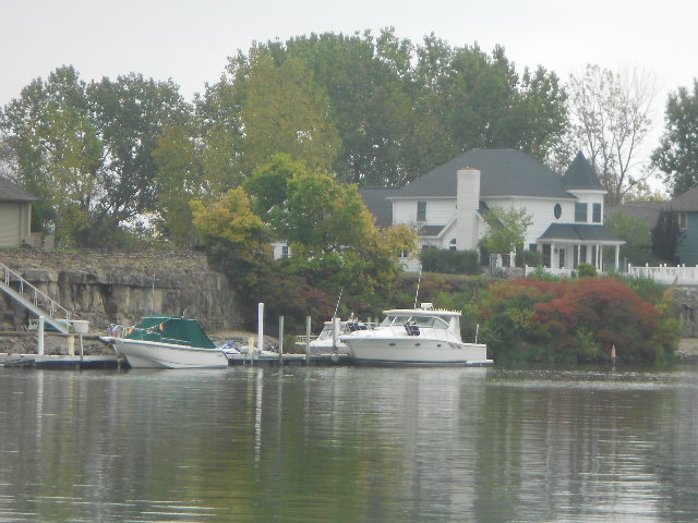I am writing today from the beautiful Sandusky area on Lake Erie.