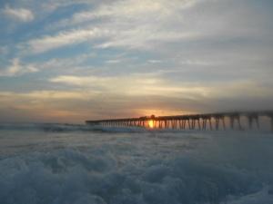 I am writing tonight from beautiful Panama City Beach, Florida.