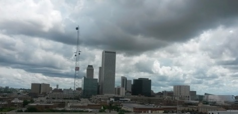 I am writing today from the beautiful, yet slightly overcast, Tulsa Oklahoma area.
