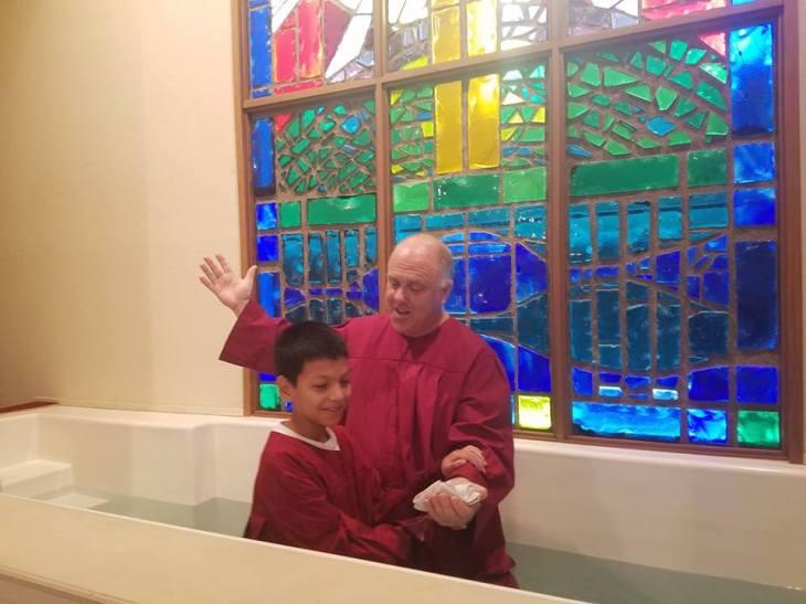 David baptism