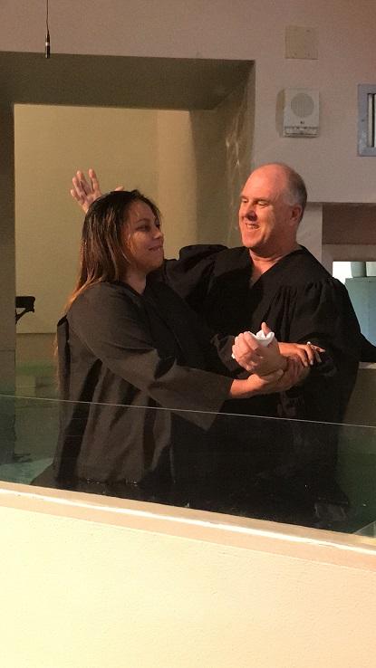 Nani Baptism